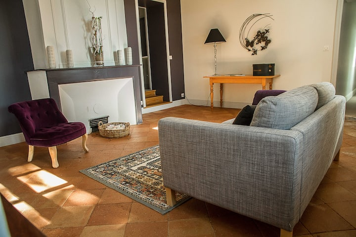 CATHARE: 3 BDR apparment- spa, hammam, pool