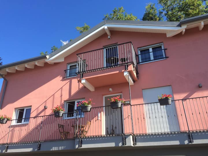 Brand new sunny, panoramic, quiet apartment