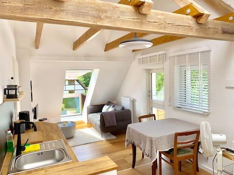 Moderno apartamento vacacional, Vieregge/Rügen
