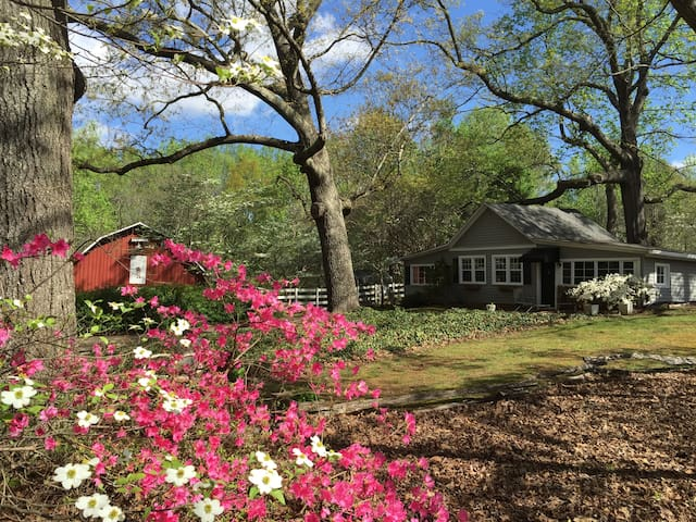 The Cottage at Old Oaks Farm - Greenville - Hospedaria
