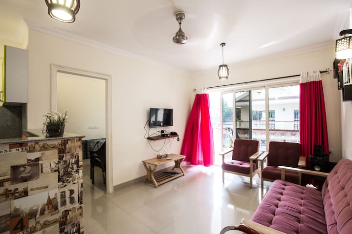 1 BHK Apartment With Beautiful View at Siolim - Mapusa - Apartment