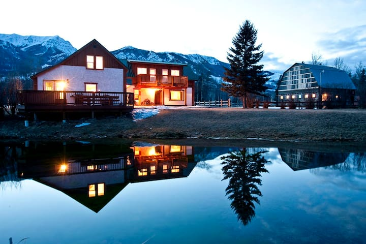 90 Acre Ranch on Elk River, Canada - Sparwood - Casa