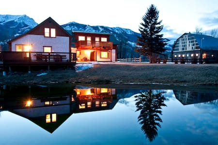 90 Acre Ranch on Elk River, Canada - Sparwood - Maison