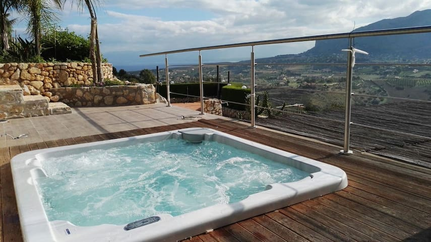 Fantastic villa with pool Scopello - Castellammare del Golfo - Huis
