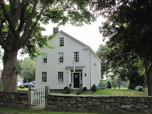 Historic Captain Philip Cory House - Tiverton - Casa