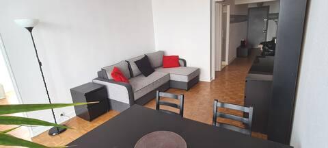 Superbe appartement en centre ville proche de Paris (7min)