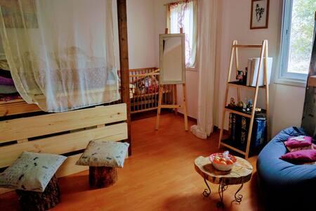 Rustic  caravan in Gush etzion - אלון שבות - House
