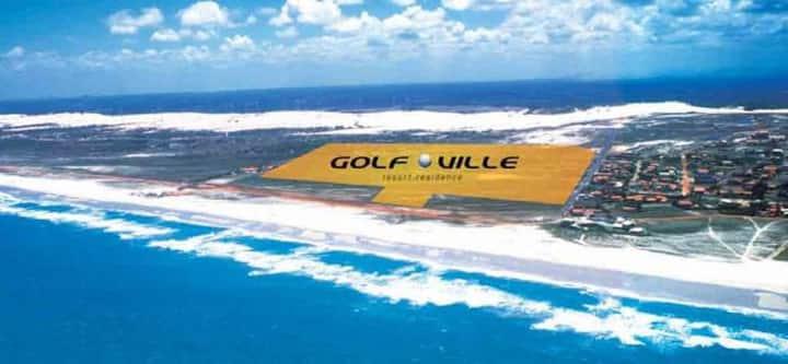 Apt 3 quartos Golfville Resort