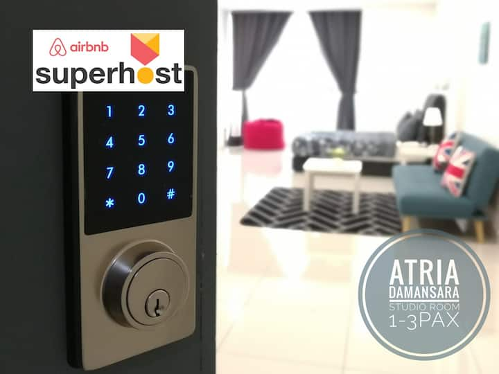 ♡PROMO♡FREE Parking WiFi TVBox@ Atria PJ Damansara