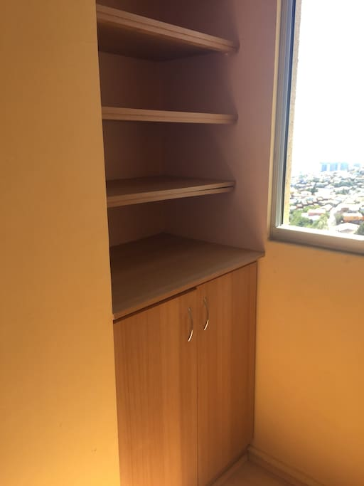Mueble para colocar ropa o artículos personales