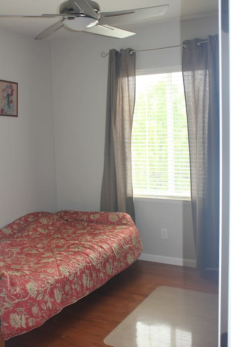 Your room with a twin bed