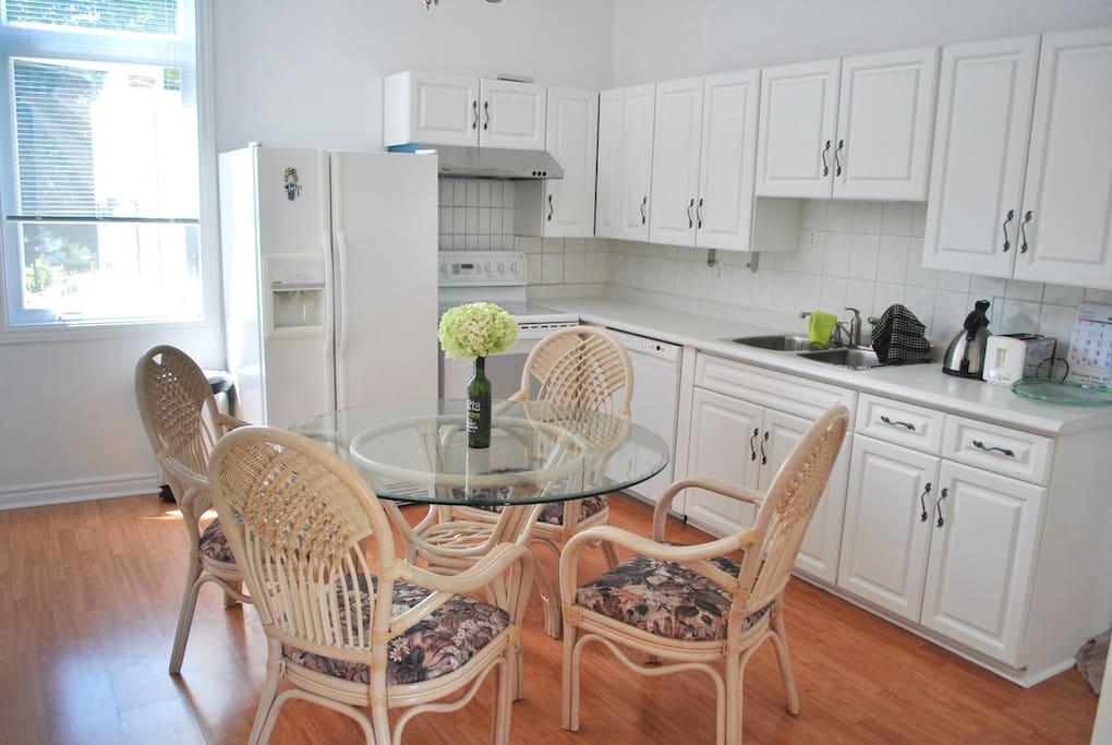 Bright Functional Kitchen