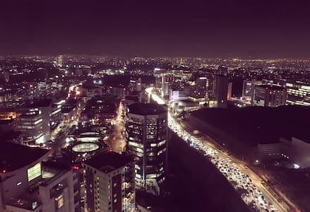 Hab. Privada, increíble vista!!! - Ciudad de México - Huoneisto