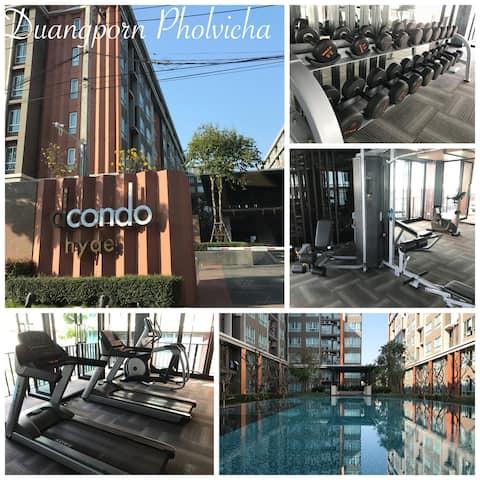 Dcondo Hyde Luxury Chiang Rai, tæt på by B