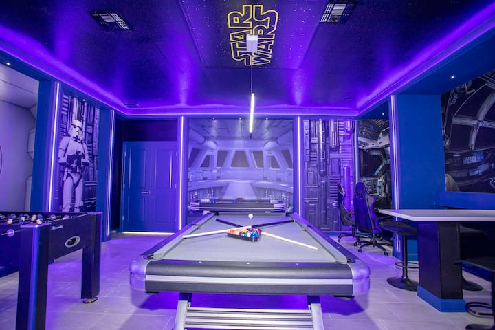Super luxury 6 bedroom home with cinema and game room