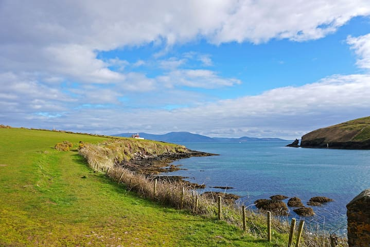 Double Room with views over Dingle Town and Bay
