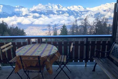 Veysonnaz (4 vallée) 200 mètres Piste de L'ours