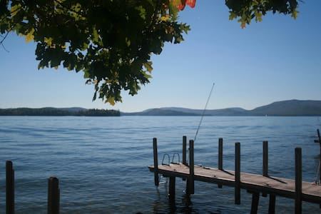 Charming Sunlit Cottage- Right on the Lake - Wolfeboro - House