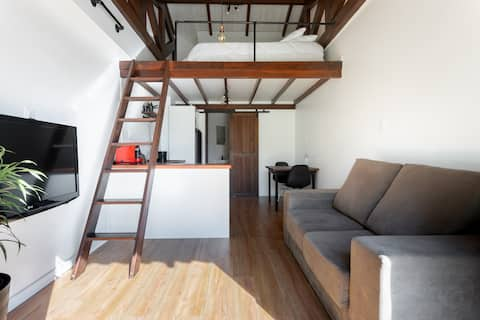 Loft with everything you need for your comfort