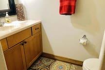 Bathroom in the loft