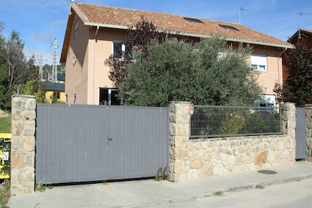 House in Sierra de Madrid - next to train station