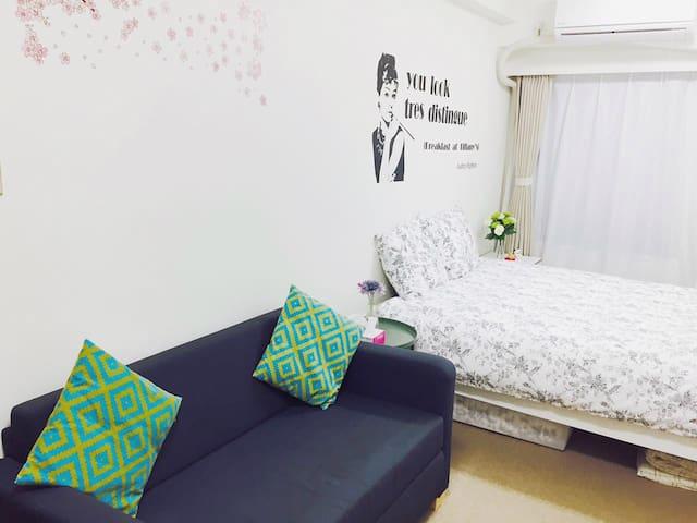 横浜 中華街観光 関内駅2分 +Pocket wifi 中文OK - 横浜市 - Wohnung