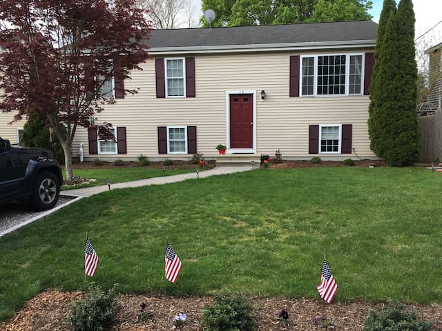 Hubs has done a great job with the lawn!
