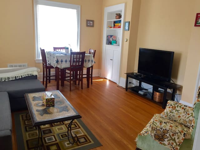 Sunny, Private Apt w/ Amazing view! - Buffalo - Appartement