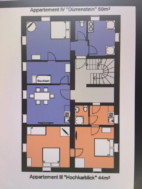 Appartements Maximilian (Göstling an der Ybbs), Hochkarblick 44m²