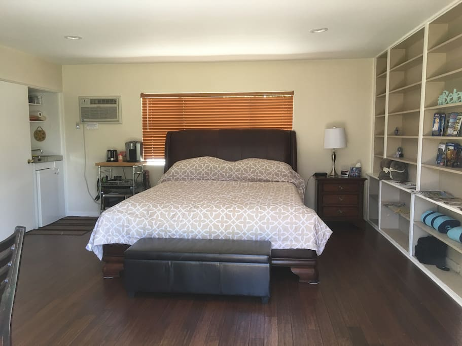 Calif. King Size Bed With Topper