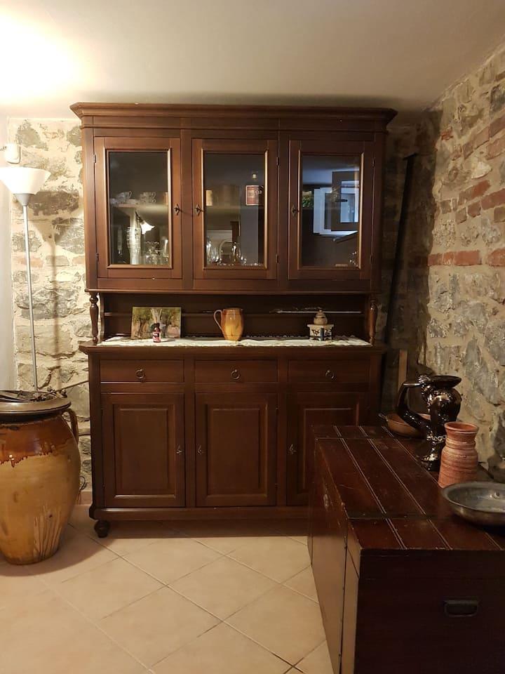 Taverna/abitaz. locazione breve a 15 km da Firenze