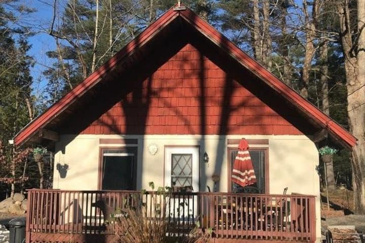 ADK chalet close to snowmobile trails & skiing!