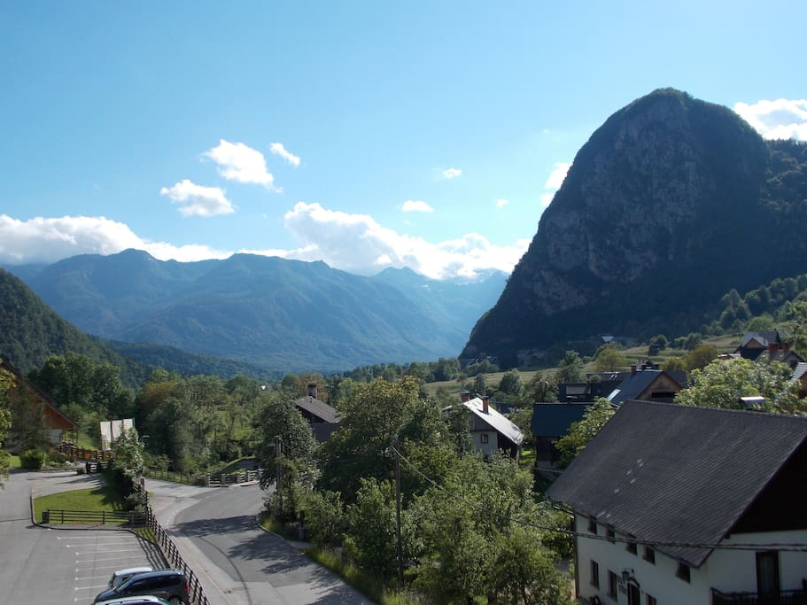 Julian Alps - amazing view from appartment balcony A