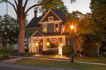 Country Victorian Bed and Breakfast - Middlebury - Szoba reggelivel