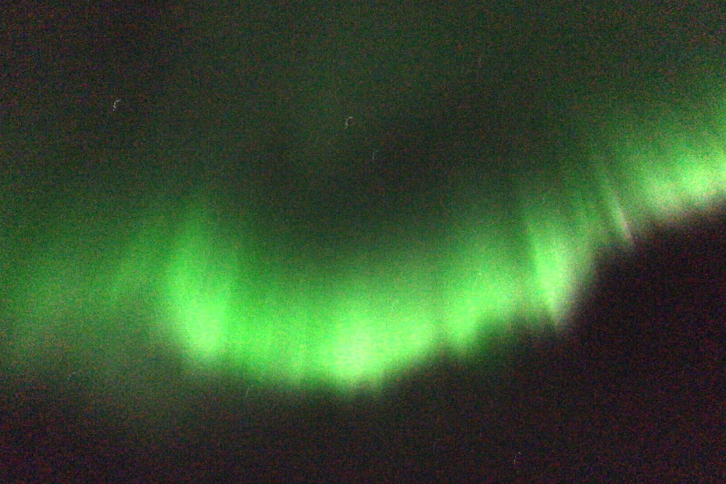 Northern lights, the most incredible nature phenomenon can be observed even from your room.