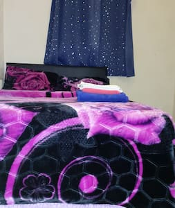 Private double bed  for holiday, comfortable sleep