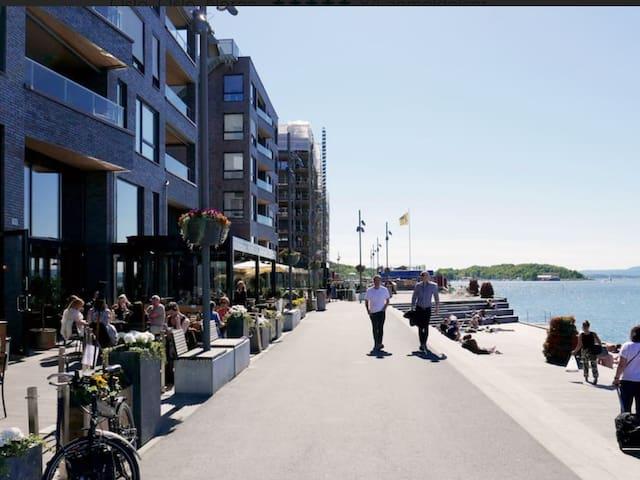 Oslo - seaside, central city