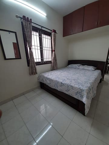 1BHK with private terrace in vadapalani