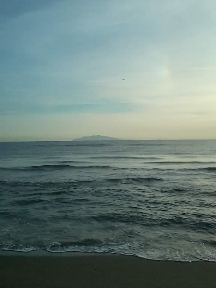 Location haute corse proche plage