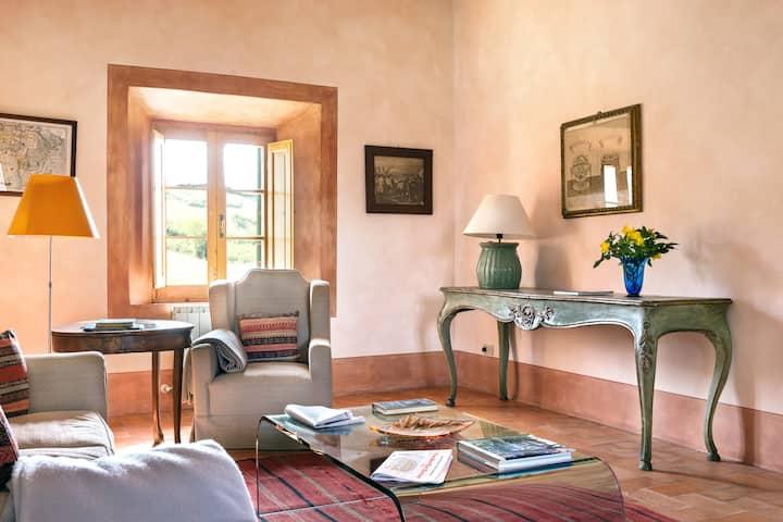 Appartamento Fonte a Chiarentana, Val d'Orcia