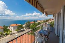 Studio Apartment, seaside in Crikvenica, Balcony