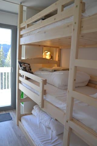 Appart confortable 2 chambres Flaine Haute Savoie - Arâches-la-Frasse - Appartement