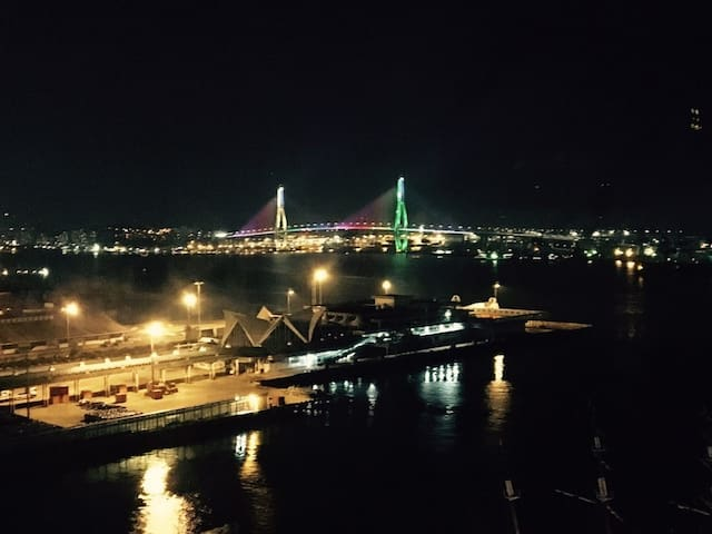 #Ocean View #Busan Harbor Bridge #Nampodong - 부산광역시 - Wohnung