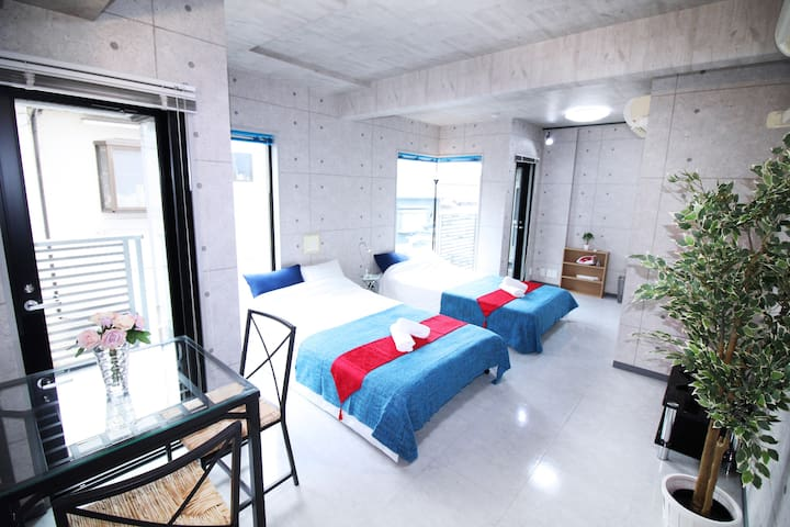 Cozy apartment/10 min walk to Ebisu and Shibuya! - Shibuya-ku - Leilighet