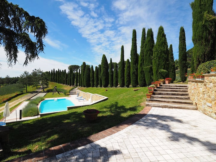 Cornocchio 4 - Holiday Rental with swimming pool near San Gimignano, Tuscany