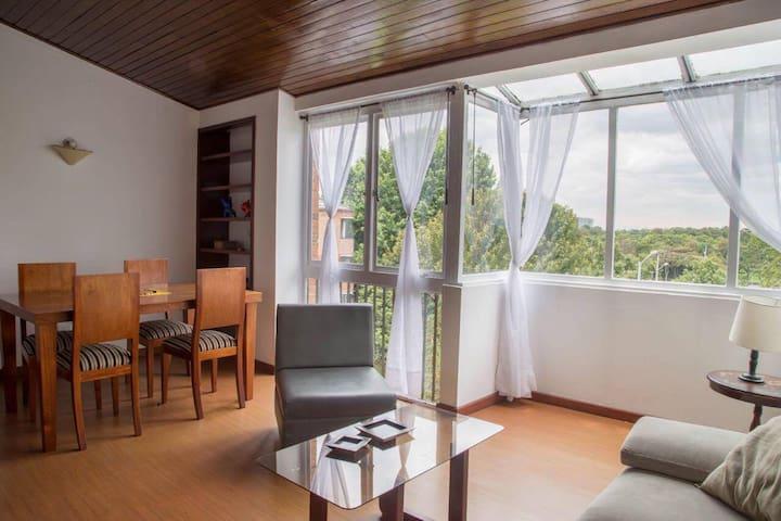 Vista increible, gran ubicación, espacios amplios. - Bogotá - Wohnung