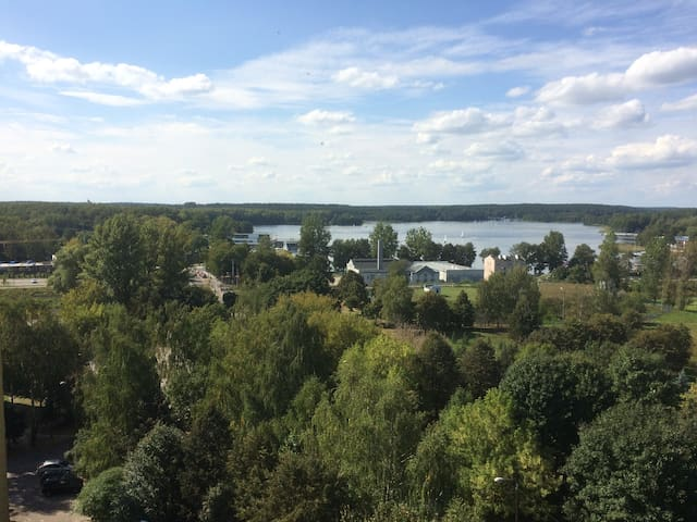 Apartament Trzy Jeziora / Three Lakes Apartment