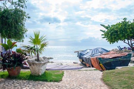 Horizon Cottage - Rasta Ranch, Belmont Jamaica - Bluefields Bay - Blockhütte
