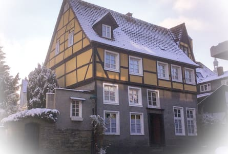 In 17th-Century Timber-Framed House - Soest - Casa
