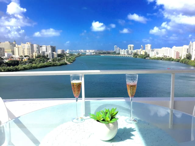NEW! LAGOON & OCEANVIEW EXPERIENCE AT CONDADO, SJ - San Juan - Appartement